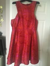 Designer Marlene Class Skater Style Dress Size 18 dry Cleaned Used Once £90 Next