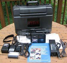 Vintage GE Video Camera VHS-C Camcorder SE9-9712 System in RCA Case General Elec