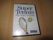 Videojuegos tenis Sega Master System SEGA
