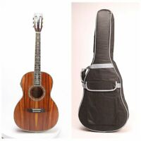 00045 Style Electric Acoustic Guitar Solid Koa Top Fishman101 Including Gigbag