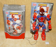 MARVEL SUPER TECH HEROES CONSTRUCTION TOY SPIDER-MAN #1916 100% W/ TUB & INST