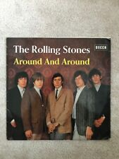 "Rolling Stones, Around and Around, ""Rare"" Mono German Pressing, BLK 16315-P EX"