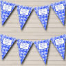 Blue Bauble Decorations Personalised Christmas Decoration Bunting Party Banner