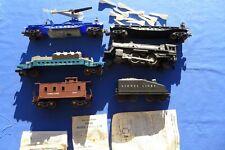 Vintage Lionel 244 Steam Engine Train Set 6544 6844 Missile Car 3419 Navy Heli