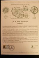 FRANCE MUSEE POSTAL FDC 06 - 88   LA BOURDONNAIS    2,20+0,50F   ST MALO  1988