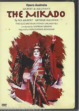 The Mikado (DVD, 2002) Robert Eddie, Heather Begg, Peter Cousens