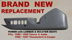 1990 1991 1992 1993  1994 1995 1996 1997 FORD THUNDERBIRD SEAT TRIM - NEW  LH