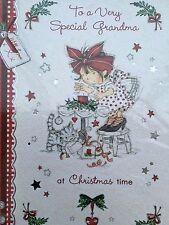 Christmas Card - To A Very Special Grandma