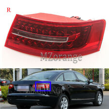 Right Driver Side LED Rear Outer Tail Light Brake Lamp For Audi A6 C6 2009-2012