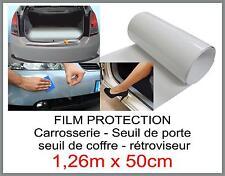 film protection carrosserie - rétroviseur - seuil de coffre et porte 1,26mx50cm