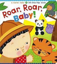 Roar, Roar, Baby! by Karen Katz (2015, Board Book)