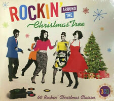 Rockin' Around The Christmas Tree 3CD - NEW Sealed 60 Rockin' Christmas Classics