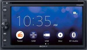 "Sony AX200 6.4"" In-Dash CD/DVD Receiver, Apple CarPlay, SiriusXM"