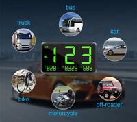 Motorcycle Bike Speedometer Speed Display KM/H MPH Digital GPS Meter Universal
