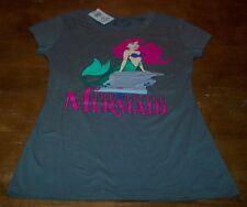 WOMEN'S TEEN Walt Disney THE LITTLE MERMAID ARIEL T-shirt SMALL NEW w/ TAG