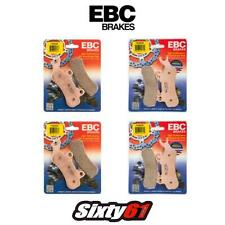 Can Am Maverick X3 Brake Pads EBC Front Rear Sintered (4 Sets) FA682R FA683R