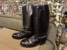 German Wwii Officers Boots, Leather