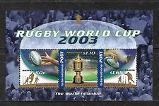 Australia. Rugby World Cup 2003 sheet mnh (9600)