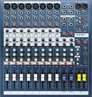 Soundcraft EPM8 Multi-format Mixer New