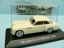 ALTAYA / IXO /VOITURE D EXCEPTION / DELAHAYE 235 COACH 1952 1/43