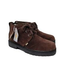 NWT Sporto Chunky 90s Y2K Brown Genuine Leather Waterproof Ankle Boot Shoes 9M