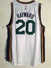 Adidas Swingman 2015-16 NBA Jersey Utah Jazz Gordon Hayward White sz L
