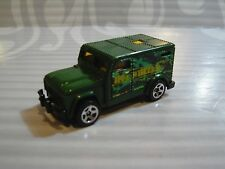 HOT WHEELS   loose  = ARMORED TRUCK = GREEN   c5sp