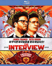 THE INTERVIEW BLURAY & DIGITAL COPY JAMES FRANCO SETH ROGEN