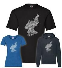 Nord Korea Fingerabdruck T-Shirt / Pullover / Hoodie