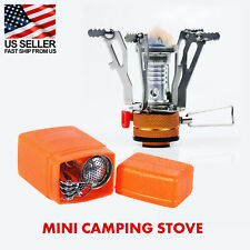 Portable Mini Stove Gas Burner for Camping, Outdoor - Piezo Ignition System
