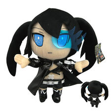 "Japanese Anime Black Rock Shooter 25cm / 10"" Soft Plush Stuffed Toy Doll"
