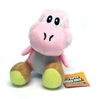 New Nintendo Super Mario Bros PINK YOSHI 7'' Plush Stuffed Animal Toy