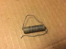 Nos Vintage Aerovox .015 uf 600v Duranite Capacitor Gray Ceramic Cap (qty avail)
