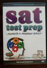 SAT test prep DVD, High School Grade Level. Complete 3 Program Series