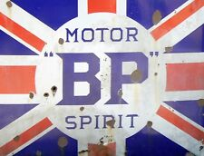 "TIN SIGN ""BP Retro""   Gas-Oil   Signs  Rustic Wall Decor"