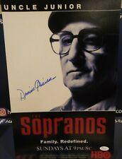 Dominic Chianese Sopranos Signed 11X17 - Uncle Jr - Jsa Coa