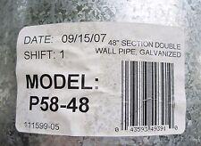 "DESA P58-48 Direct Vent Air-Cooled 5 x 8  x 48""  Direct vent air cooled fitsFMI"