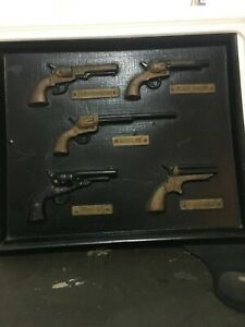 DISPLAY CASE WITH IMITATION GUNS - GREAT FOR MAN CAVE - PICK UP - GOLD COAST