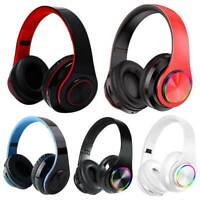 Noise Cancelling Wireless Headphones Bluetooth Headset Stereo Earphones Over Ear