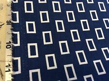 SIMPLY STYLE #10815-19 BLUE WINDOWS BY V AND CO FOR MODA- 1 7/8 YARDS