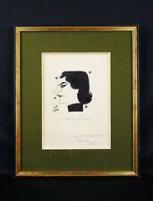 Jean Malavergne dit Jan MARA (1912-1992)dessin Julien Bertheau art dramatique