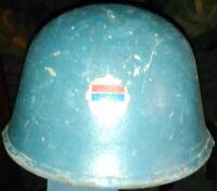 SERBIA YUGOSLAVIA BALLISTIC HELMET M-89 USED THROUGH YUGOSLAV WARS