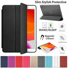 "For Apple iPad 7th Generation 10.2"" inch 2019 Leather Smart Stand Case Cover"