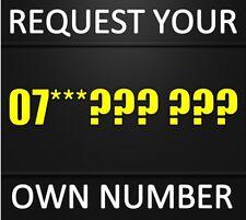 Uk Rare Gold Platinum Vip Diamond Golden Mobile Phone Number Sim Card U.K