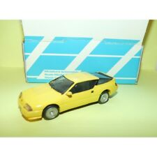 RENAULT ALPINE V6 GT 1985 Jaune KIT ALEZAN 1:43