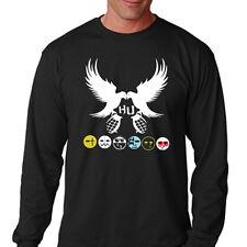 New Hollywood Undead Rock Rap Band Men's Long Sleeve Black T-Shirt Size S-3XL