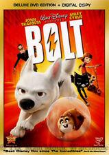 Disney's Bolt Kids Dog Superhero Family Movie on DVD and Digital Copy Travolta