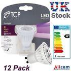 1x 3x 6x 12x 5W TCP GU10 ampoule LED Spot Spots 330Lm Blanc Chaud 3000K