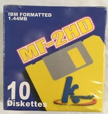 MF-2HD IBM Formatted 1.44MB Diskettes
