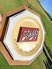 Vintage 1960 Schlitz Beer 3-D Bar Sign